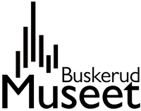 Logo for Buskerudmuseet.