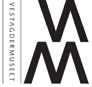 Logo for Vest-Agdermuseet.